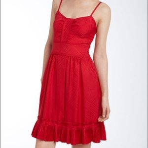 Marc by Marc Jacobs Yili Fiesta Red Dress